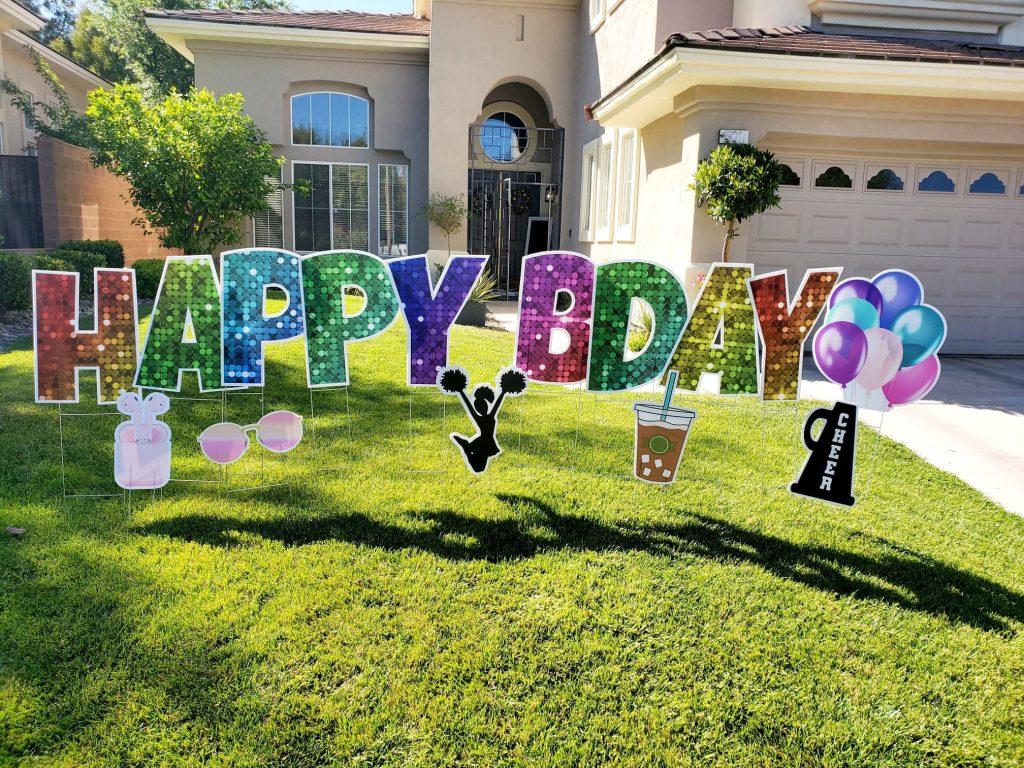 Yard Card Birthday Las Vegas